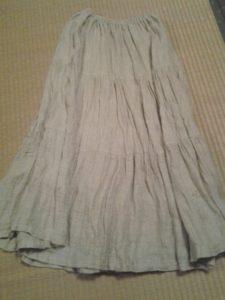 麻スカート